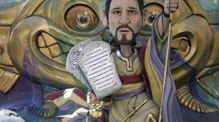 Pablo Iglesias, el icono en llamas