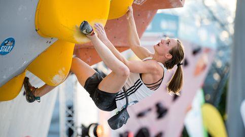 Final femenina de escalada en Múnich