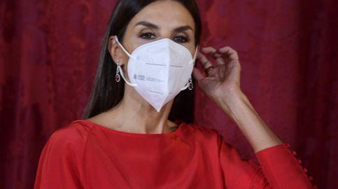 Letizia muestra en todo su esplendor su vestido (casi) 'secreto' de Massimo Dutti