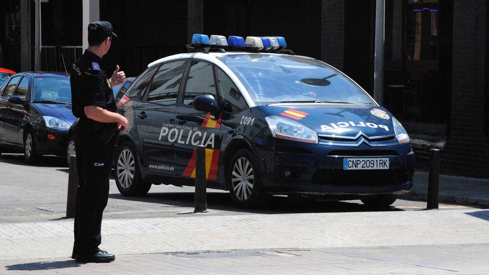 Foto: La Policía Nacional detuvo al agresor (EFE)