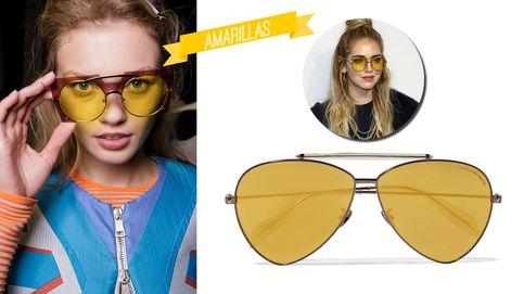 De colores, redondas o en versión joya, estas serán tus gafas de sol favoritas este verano