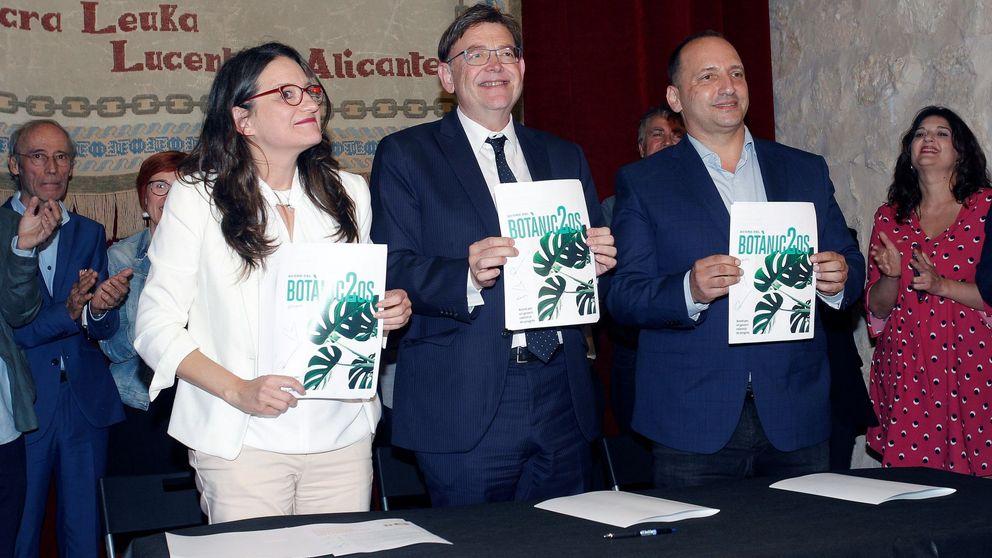 Puig se garantiza la investidura al límite con una vicepresidencia para Podemos