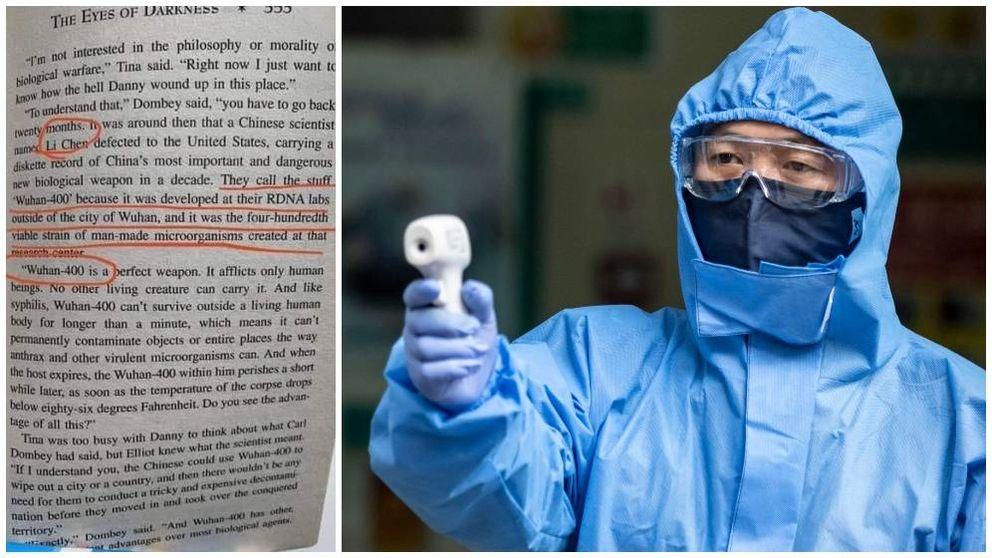 Así es el libro de terror que habló de un coronavirus de Wuhan en 1981