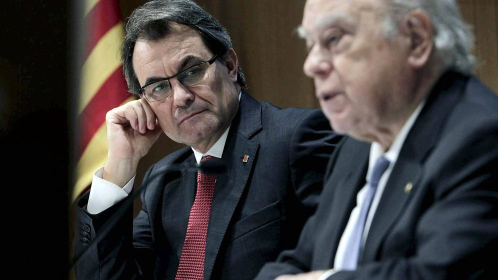 Foto: Artur Mas y Jordi Pujol. (Efe)
