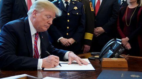 Trump firma el veto a la resolución del Congreso contra su emergencia nacional