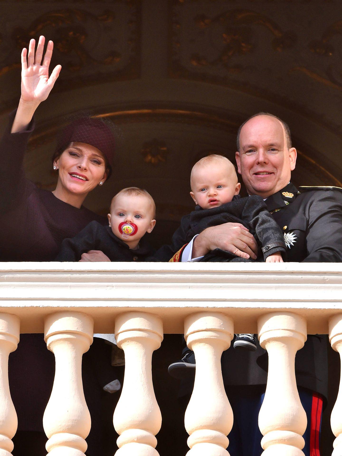 Los príncipes de Mónaco junto a sus mellizos, Gabriela y Jacques (Gtres)