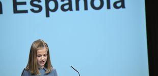 Post de Segura y sin nervios: así ha sido el primer discurso de la princesa Leonor