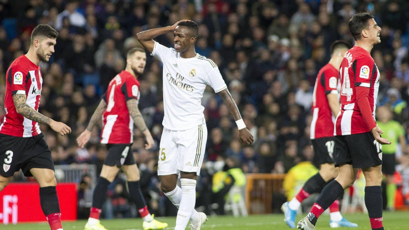Foto: Vinicius en el Real Madrid - Athletic Club. (Miguel Berrocal)