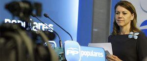 Foto: Cospedal pasa a la ofensiva total contra Bárcenas