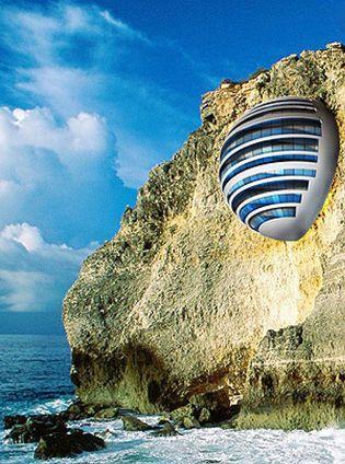 Foto: Un hotel esférico para luchar contra la perversidad del diseño caduco