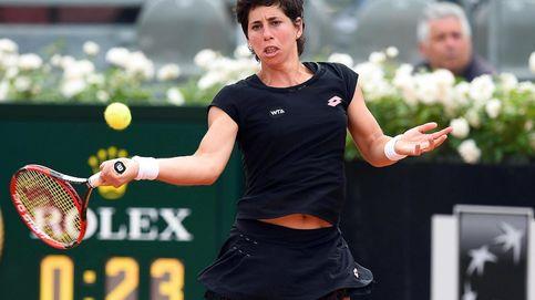 Carla Suárez remonta a Simona Halep y se mete en la final del torneo de Roma