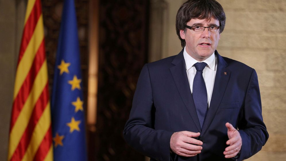 Foto: El presidente de la Generalitat de Cataluña, Carles Puigdemont. (REUTERS)