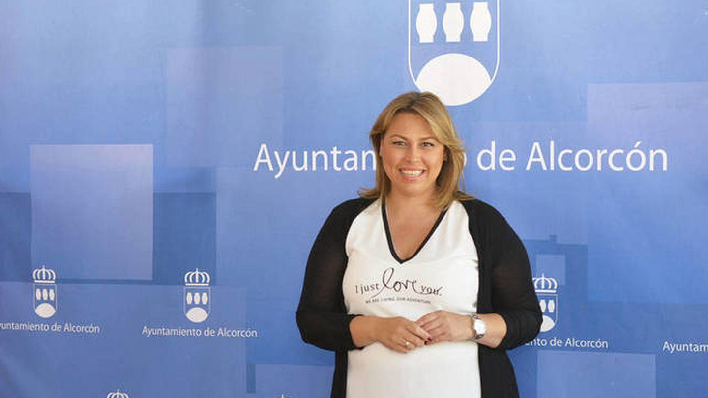 Silvia Cruz, administradora de Ariete Seguridad, cuando era concejala de Alcorcón.