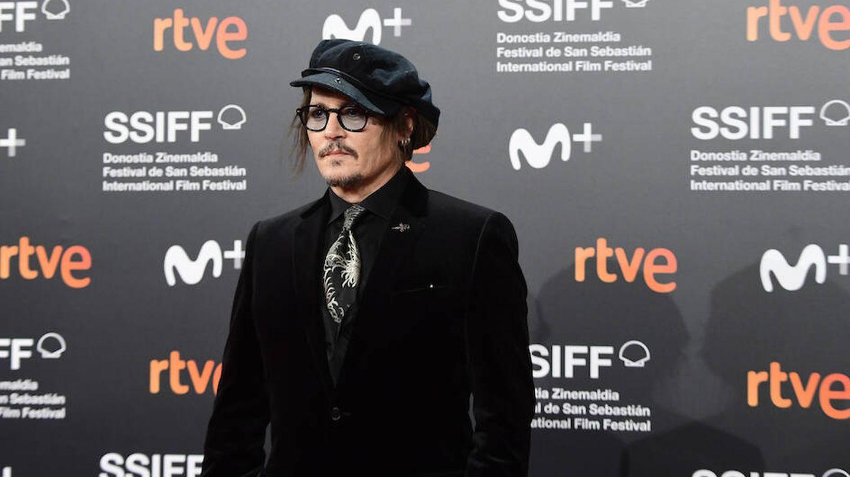 Depp, en el Festival de San Sebastián. (Limited Pictures)