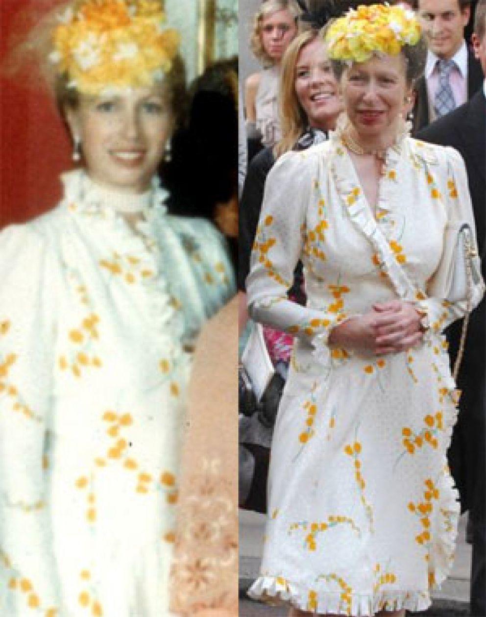 Foto: La princesa Ana y su vestido de 1981