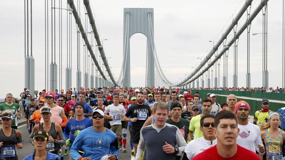 Foto: Corredores durante el maratón de Nueva York. (Reuters)