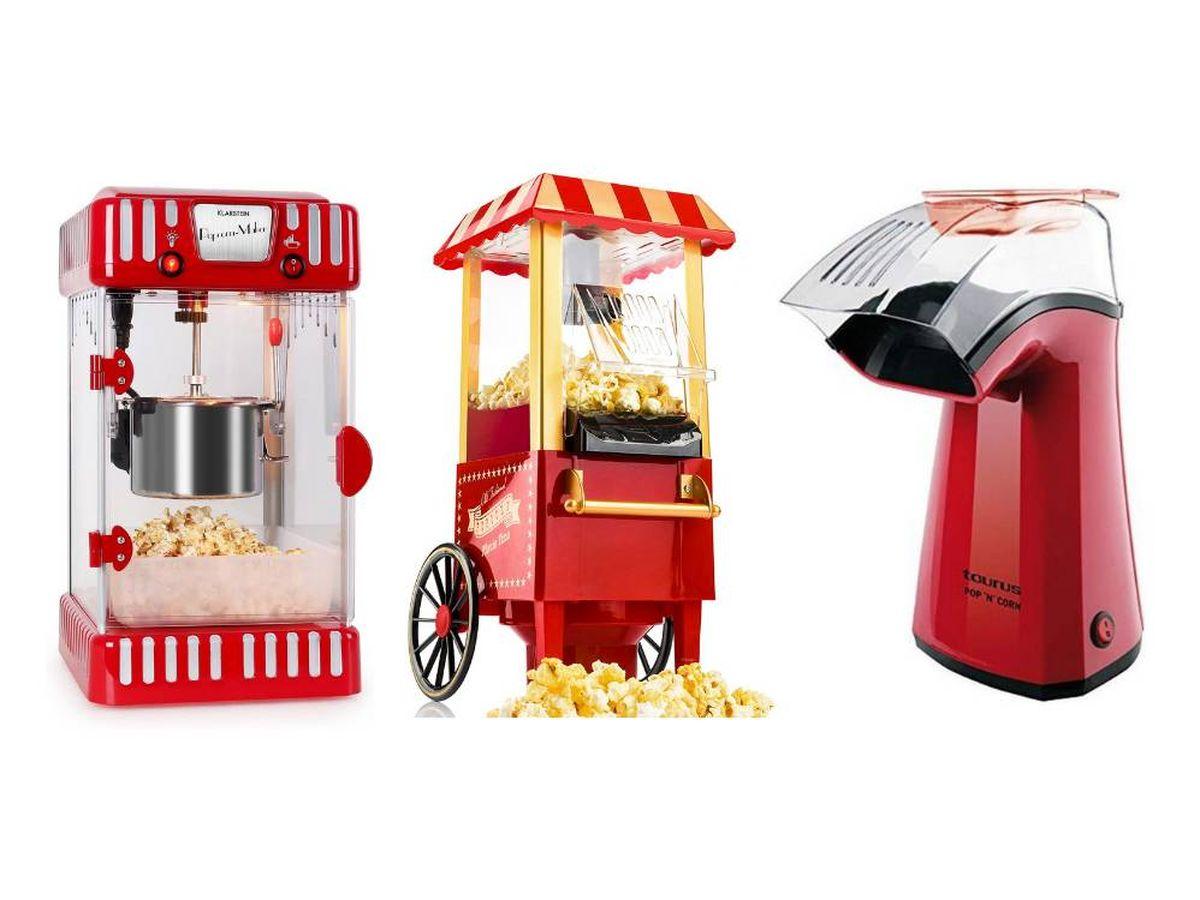 Foto: Las máquinas de palomitas para disfrutar del cine en casa