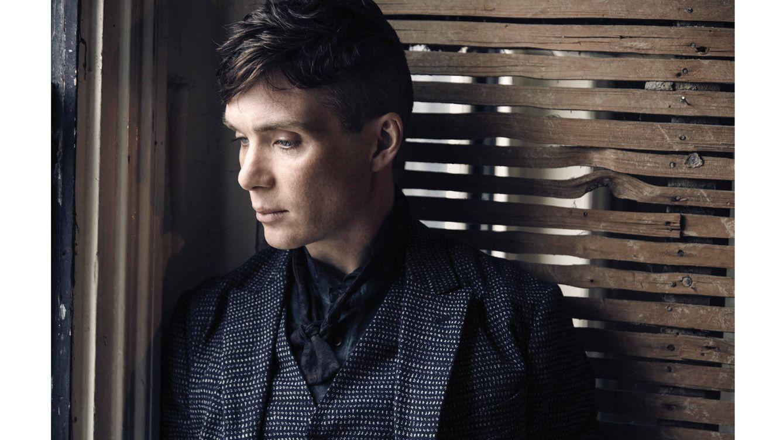 Foto: Una persona tranquila pese al éxito. Cillian Murphy basa especialmente su elegancia en este rasgo de su personalidad. (Vassilis Karidis)