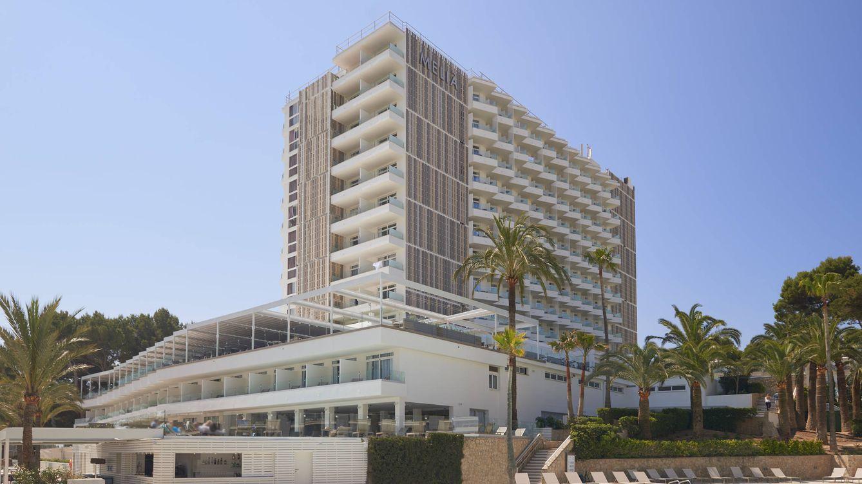 Foto: Un vista del remodelado hotel Calvià Beach, en la zona madura de Magaluf.