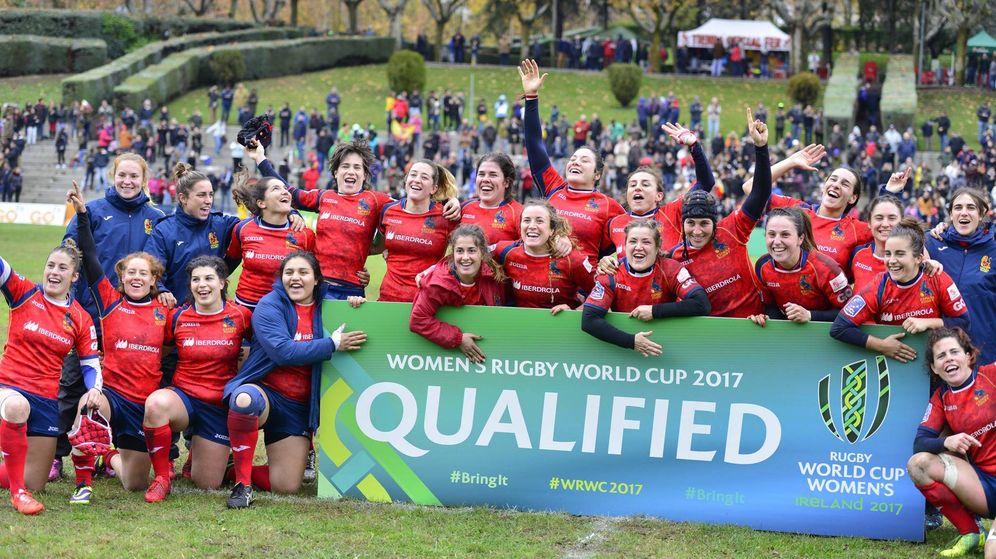 Foto: Las Leonas siguen haciendo historia para el rugby español (FOTOS: ferugby.es)