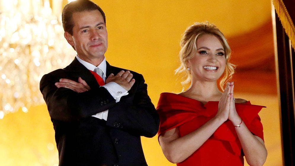 Foto:  Angélica Rivera y Peña Nieto. (Getty)