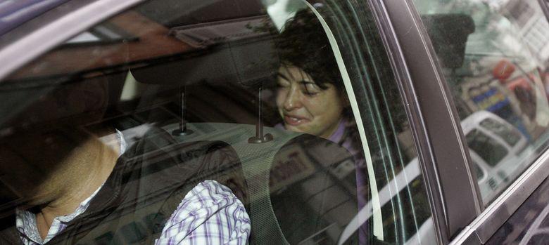 Foto: Rosario Porto, la madre de la niña de 12 años hallada muerta en las afueras de Santiago. (Efe)
