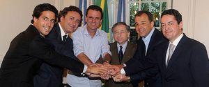 Foto: Agag y Bañuelos pagan 40 millones por los derechos de la Fórmula E