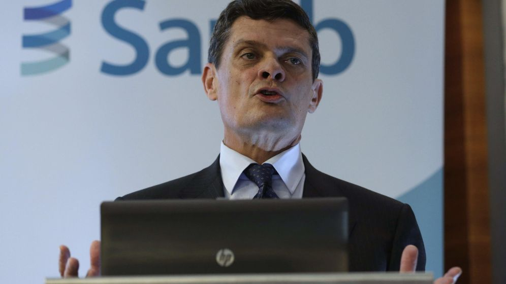 Foto: Jaime Echegoyen, presidente de Sareb