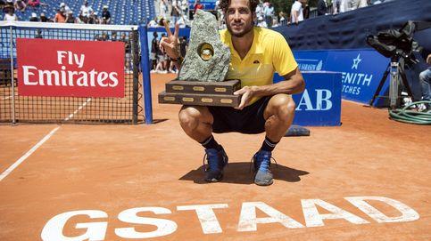 Feliciano López aprende en Gstaad lo que es ganar en tierra batida