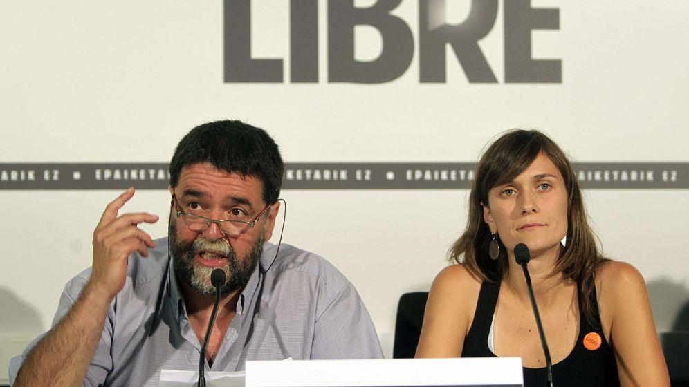 Foto: Foto de archivo de Joseba Álvarez (i) y Olatz Izagirre (d). (EFE)