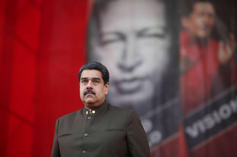 Foto: El presidente Nicolás Maduro durante un desfile militar en Caracas, en enero de 2018. (Reuters)