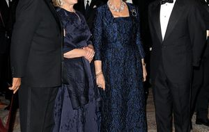 El cariñoso reencuentro entre la Reina Sofía y Jaime de Marichalar