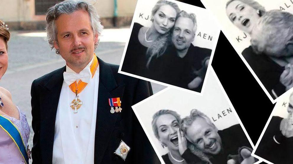 El marido de Marta Luisa de Noruega, 'pillado' entre los pechos de una rubia