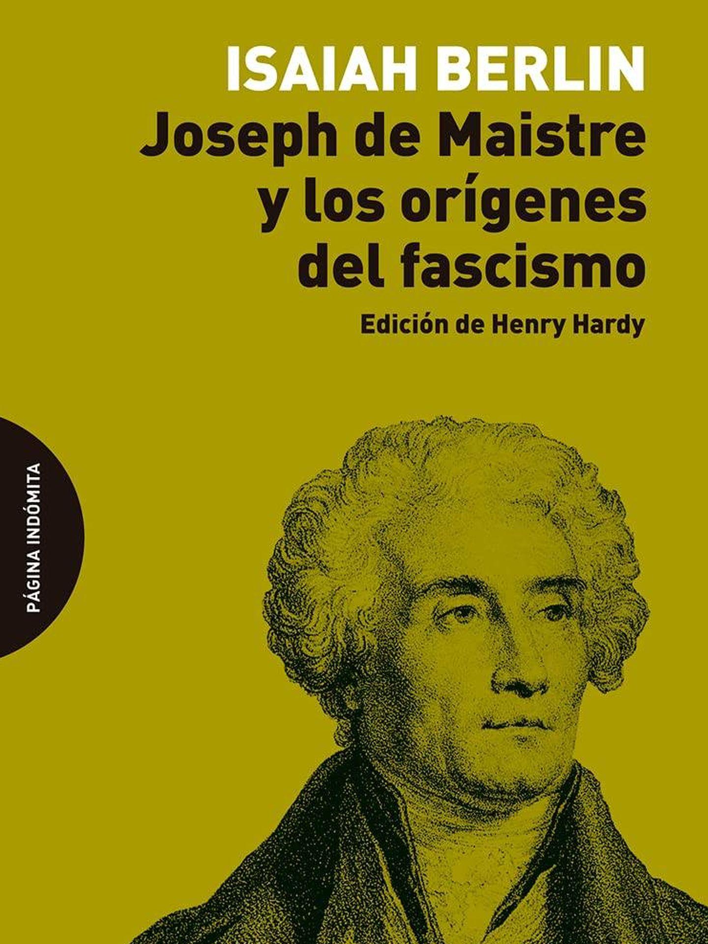 'Joseph de Maistre y los orígenes del fascismo'.