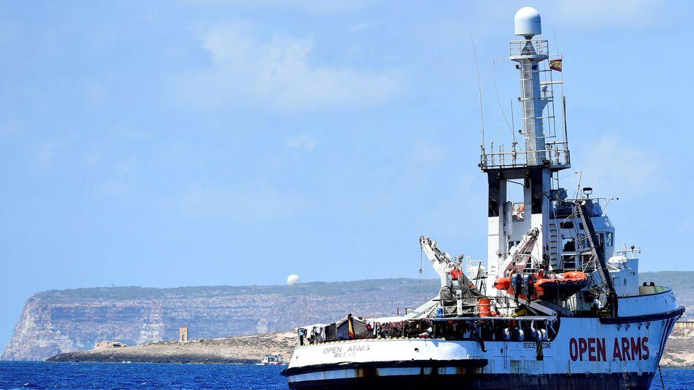 Foto: El barco de la ONG española Open Arms. (Reuters)