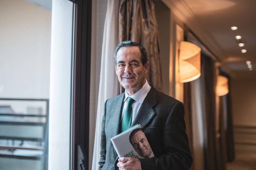 Foto: El expresidente del Congreso y exministro de Defensa José Bono, este 19 de noviembre en el hotel Intercontinental de Madrid. (Jorge Álvaro Manzano)