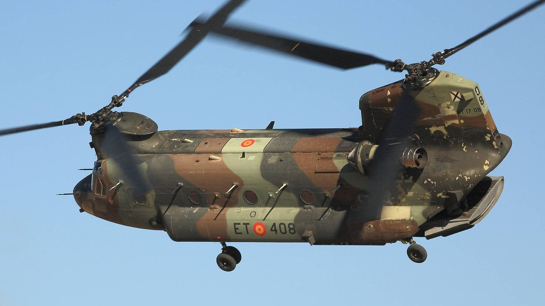 CH-47D español de las FAMET (Juanjo Fernández)