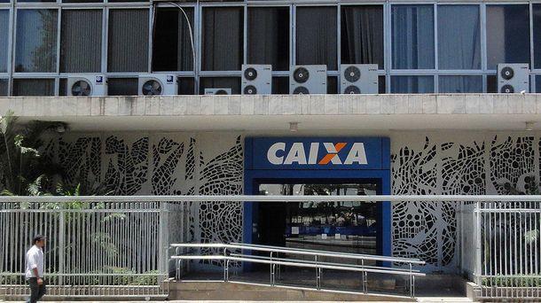 Foto: Sucursal de la Caixa Econômica Federal en Río de Janeiro