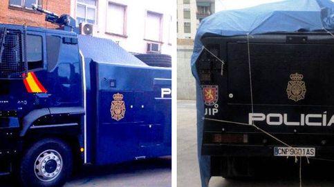 El Gobierno envía el camión con cañones de agua de la Policía a Barcelona