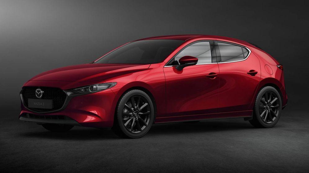 Foto: El Mazda 3 es el primer modelo de la nueva ofensiva de producto de Mazda.