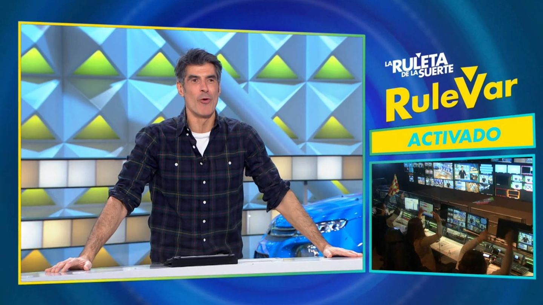 El RuleVar, activado. (Atresmedia)
