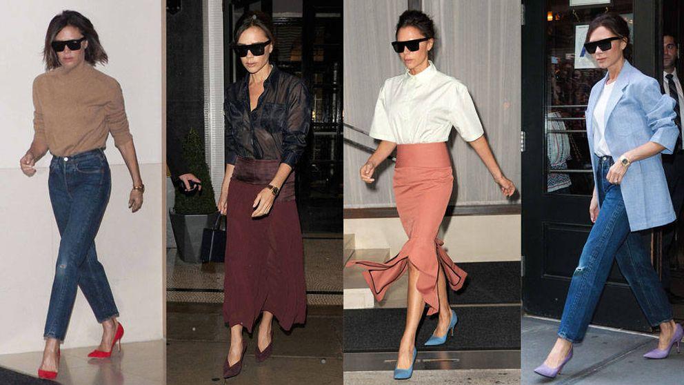 Victoria Beckham: cuatro looks para copiar y empezar bien el otoño