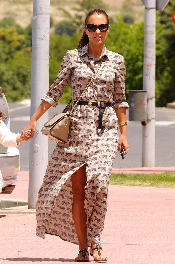 Look vestido largo paula echevarria