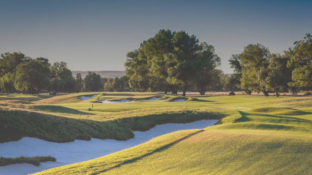 Foto: Imagen del campo de golf de La Moraleja.