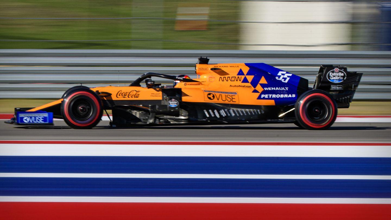 Carlos Sainz durante el Gran Premio de Estados Unidos. (Reuters)