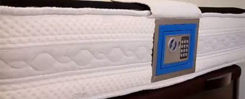 Foto: Una pyme de Salamanca lanza un colchón con caja fuerte en respuesta a la crisis