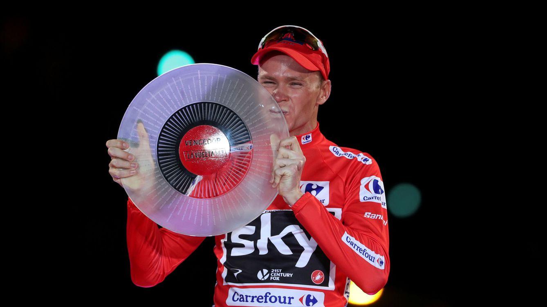 Foto: Froome gana su primera Vuelta. (EFE)