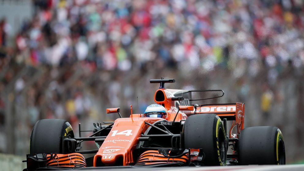 McLaren cancela un test después de los intentos de atraco con pistola en Brasil