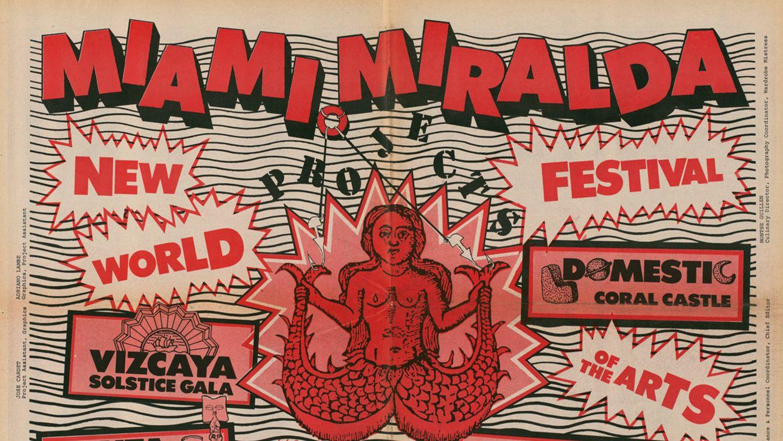 Foto: Miami Projects' (1982), de Miralda Madeinusa.