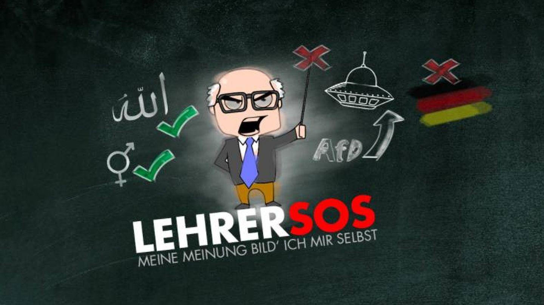 La portada de la plataforma de denuncia deja ver lo que creen 'doctrina': educación de género e Islam y criticar AfD o Alemania